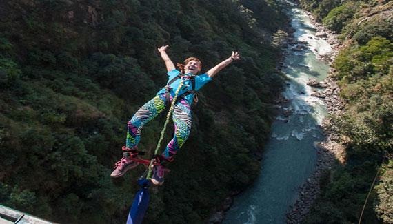 bungee jumping nepal